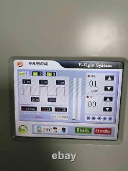 Professional Intense Pulsed Light OPT SHR IPL Therapy Elight Hair Removal Device