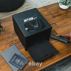 RPNB Gun Security Safe Quick-Access Firearm Safety Device Biometric Fingerprint
