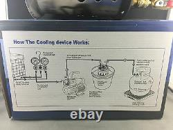 Recovery Unit Refrigerant Cooling Device Makes Faster Filling Wk-rc225