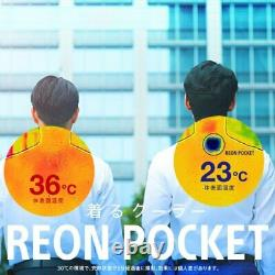 SONY REON POCKET2 RNP-2 2021 new modle Air Conditioner Cold Warm Wearable RNP2