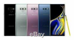 Samsung Galaxy NOTE 9 SM-N960U 128GB FACTORY Unlocked DEVICE 4G OB Excellent