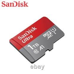 SanDisk 1TB Ultra A1 microSD SDXC UHS-I C10 TF Memory Card for Mobile device +TK