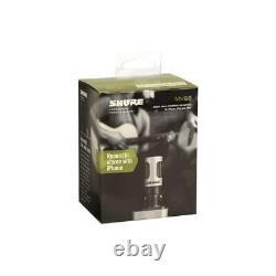 Shure MOTIV MV88 Digital Stereo Condenser Microphone for iOS Devices #MV88/A
