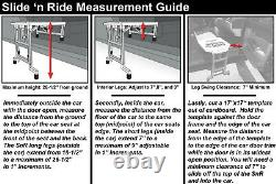 Slide'n Ride Vehicle Assist Transfer Seat/Board/Device-500lb. Rated, Foldable