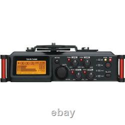 Tascam DR-70D 4-Channel Audio Recording Device for DSLR and Video Cameras