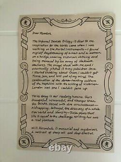 The Infernal Devices by Cassandra Clare Boxed Set Illumicrate + Author Letter