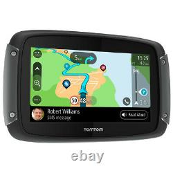 TomTom Rider 550 World Motorcycle Navigation Device Satnav Lifetime Map Updates