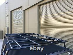 Urban Offroad Land Rover Nas Defender 90 Platform Full Roof Rack Ladder Kit