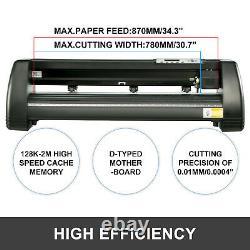 Vinyl Cutter Plotter Cutting 34 Sign Maker Backlight decoration Cut Device